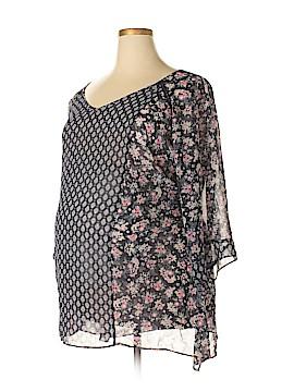 Jessica Simpson 3/4 Sleeve Blouse Size 3X (Plus)