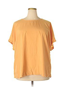 J.jill Short Sleeve Blouse Size 3X (Plus)