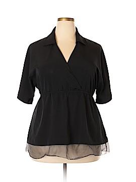 Simply Vera Vera Wang 3/4 Sleeve Blouse Size XL