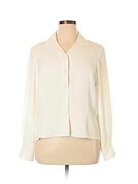 Pendleton Long Sleeve Blouse Size 16