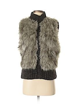 Ann Taylor LOFT Faux Fur Vest Size XS - Sm