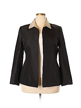 DressBarn Silk Blazer Size 16