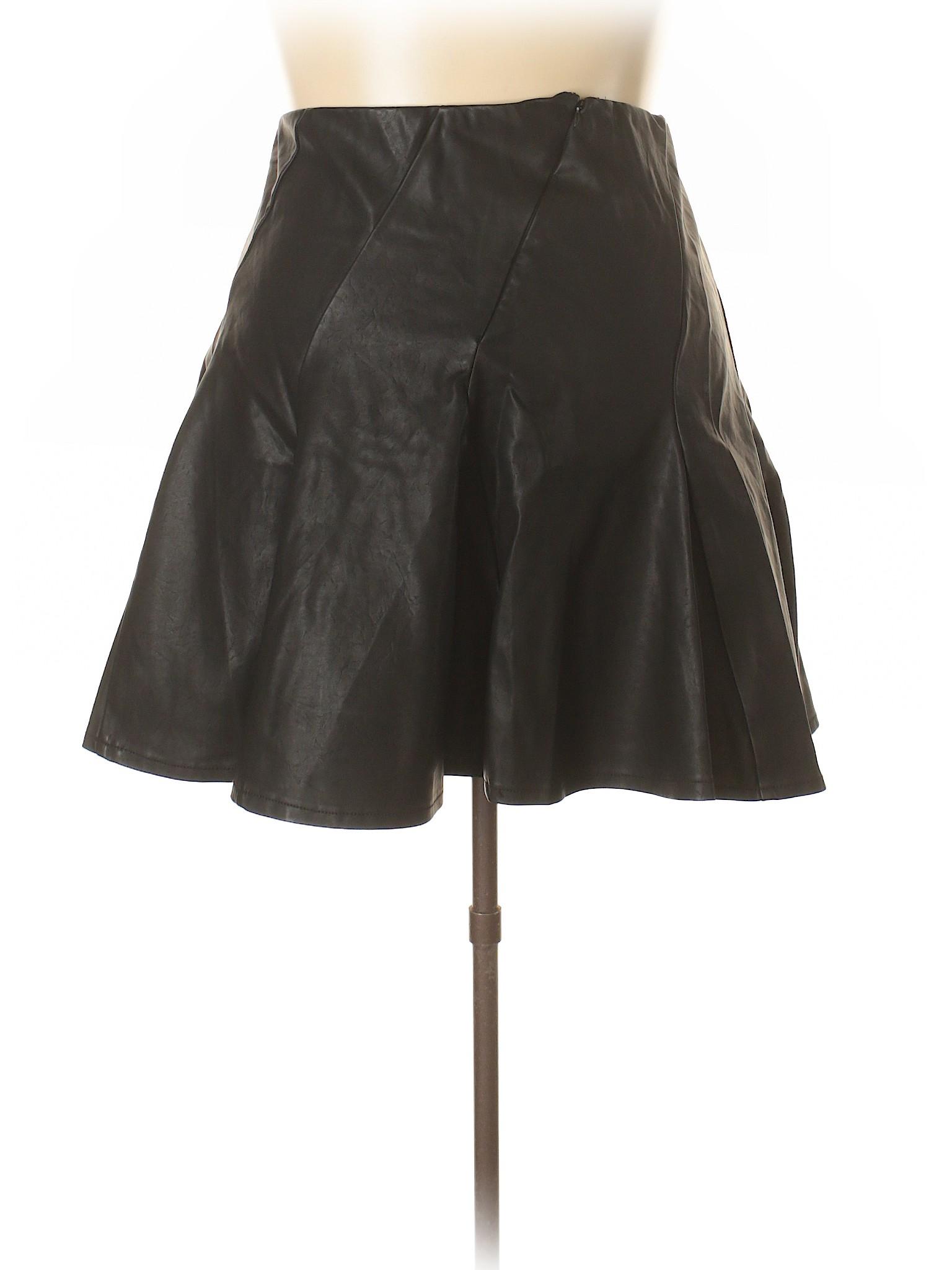 Faux Faux Skirt Boutique Faux Leather Boutique Boutique Leather Skirt 7qB1gg