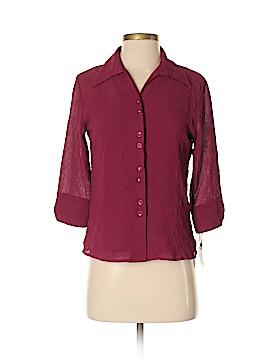 Covington Outlet 3/4 Sleeve Button-Down Shirt Size S (Petite)
