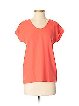 Diane von Furstenberg Short Sleeve Blouse Size P