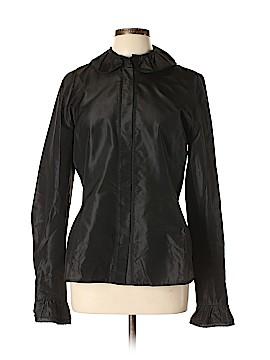 Linda Allard Ellen Tracy Long Sleeve Silk Top Size 12