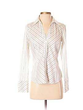 Sandra Ingrish Long Sleeve Button-Down Shirt Size 4