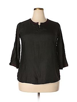Fabindia 3/4 Sleeve Blouse Size XL