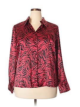 Venezia Long Sleeve Blouse Size 14 - 16 Plus (Plus)