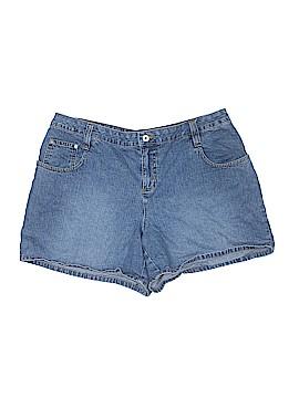 Carolina Blues Denim Shorts Size 16w