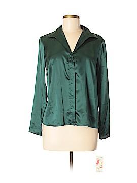Covington Outlet Long Sleeve Button-Down Shirt Size M (Petite)