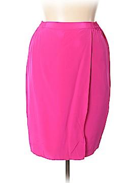 Diane von Furstenberg Silk Skirt Size XL