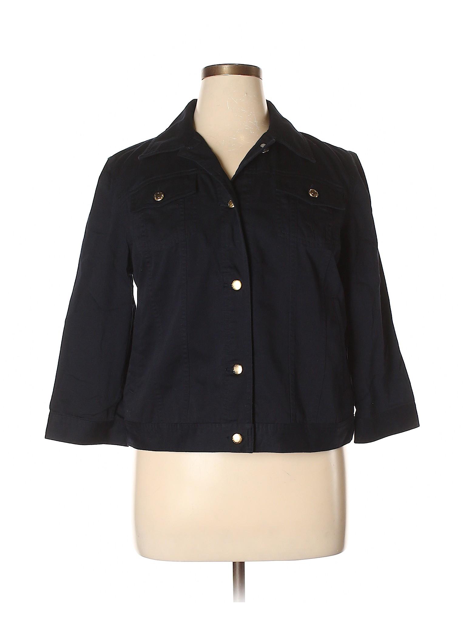 Chaps Boutique Denim Jacket winter winter Boutique qqrt71