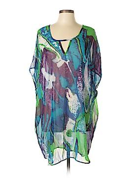 Peppermint Bay Short Sleeve Blouse Size XL