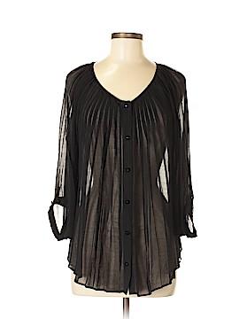 Debbie Shuchat Long Sleeve Blouse Size M