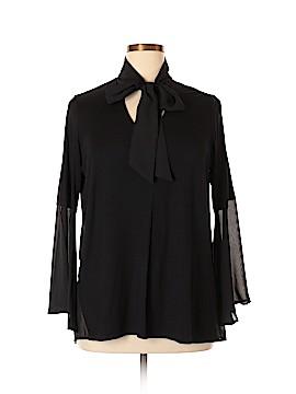 IMAN Long Sleeve Top Size L