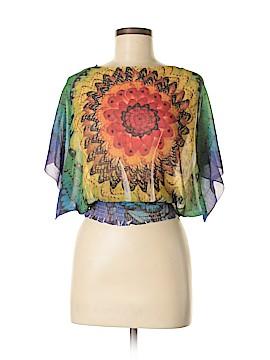 Energe by oneworld Short Sleeve Blouse Size S