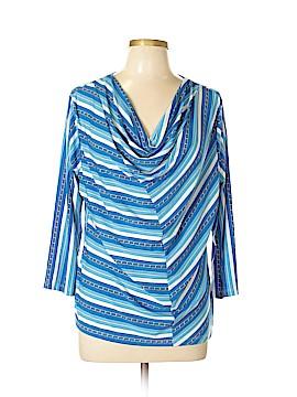 Ellen Tracy Short Sleeve Top Size XL