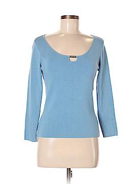 MICHAEL Michael Kors Silk Pullover Sweater Size M
