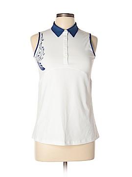 Annika Cutter & Buck Sleeveless Polo Size M