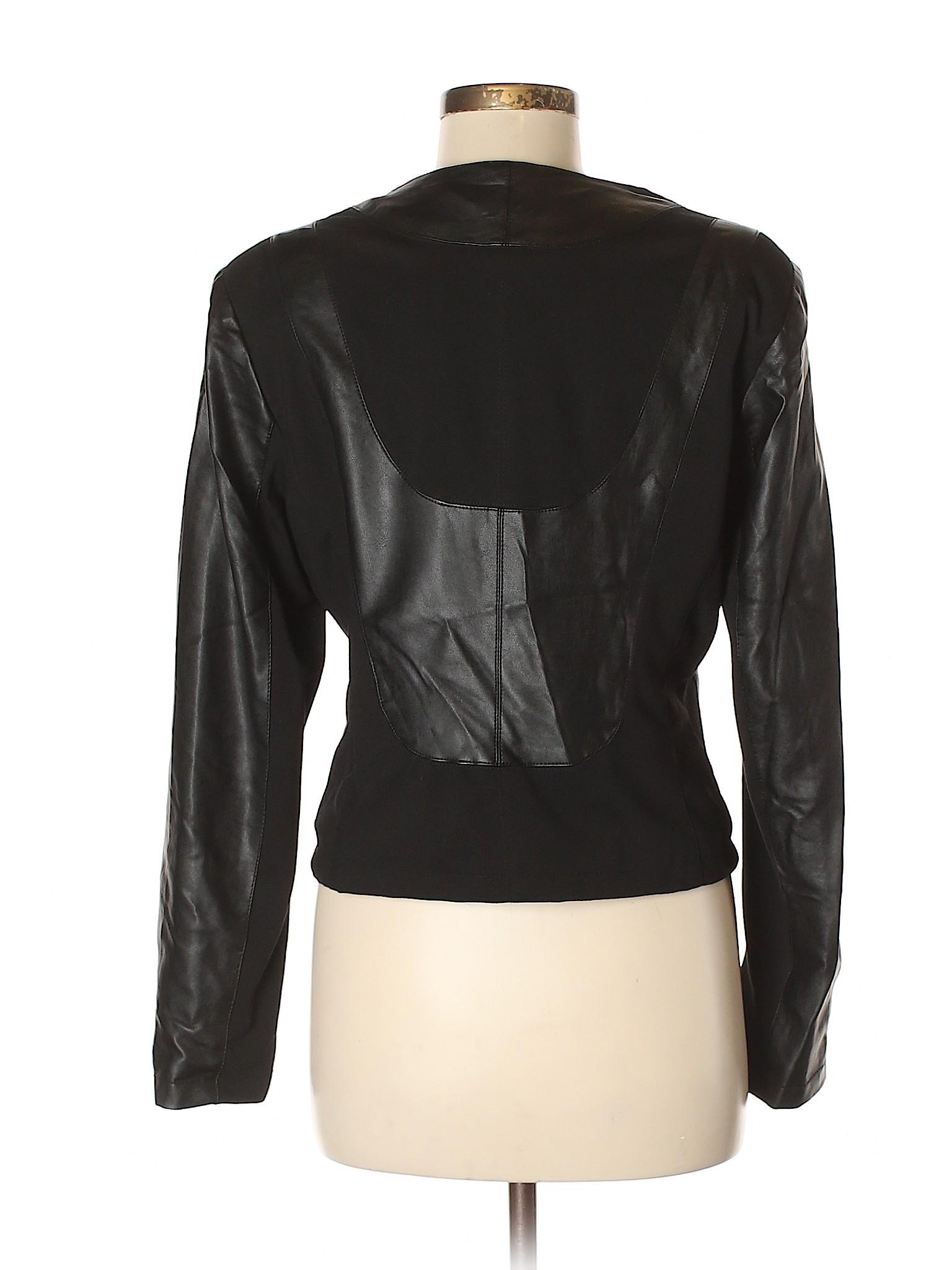 Leather leisure Jacket Revue Faux Boutique 1tgxSUUqw