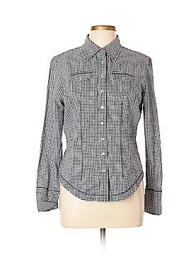 FIORUCCI Long Sleeve Button-Down Shirt Size XL