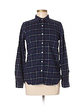 Muji Long Sleeve Button-Down Shirt Size M