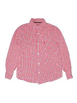 Johnnie-O Long Sleeve Button-Down Shirt Size 12