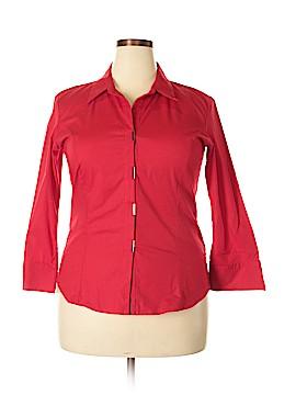 A.L.C. 3/4 Sleeve Button-Down Shirt Size XL