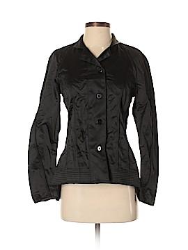 Silk Box Long Sleeve Silk Top Size XS