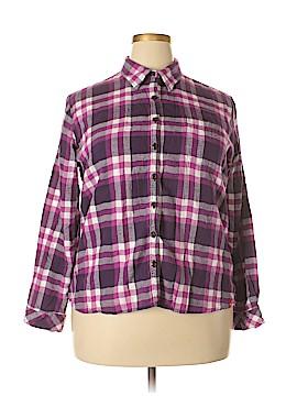 Dickies Long Sleeve Button-Down Shirt Size XL
