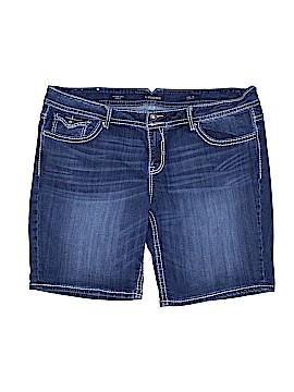 Vigoss Denim Shorts Size 24 (Plus)