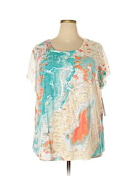 Relativity Short Sleeve T-Shirt Size 3X (Plus)