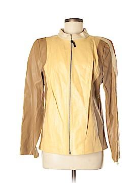 Bradley by Bradley Bayou Leather Jacket Size M