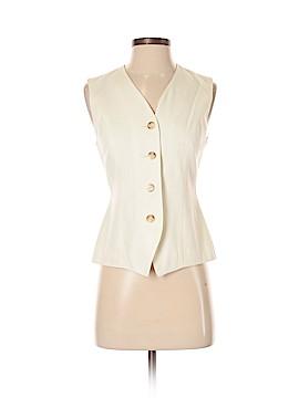 Casual Corner Tuxedo Vest Size 2 (Petite)