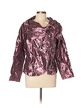 Silk Box Long Sleeve Blouse Size XXL