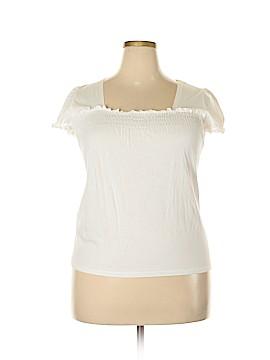 Liz & Co Short Sleeve Top Size XL (Petite)