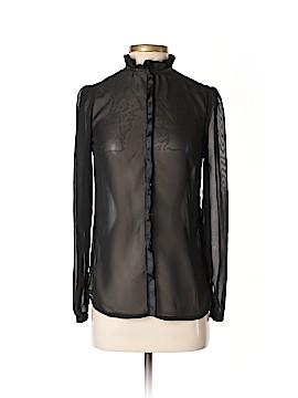 Kardashian Kollection Long Sleeve Blouse Size XS