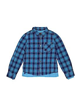 Catimini Long Sleeve Button-Down Shirt Size 8