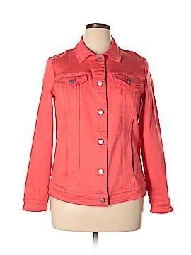 Coldwater Creek Denim Jacket Size L