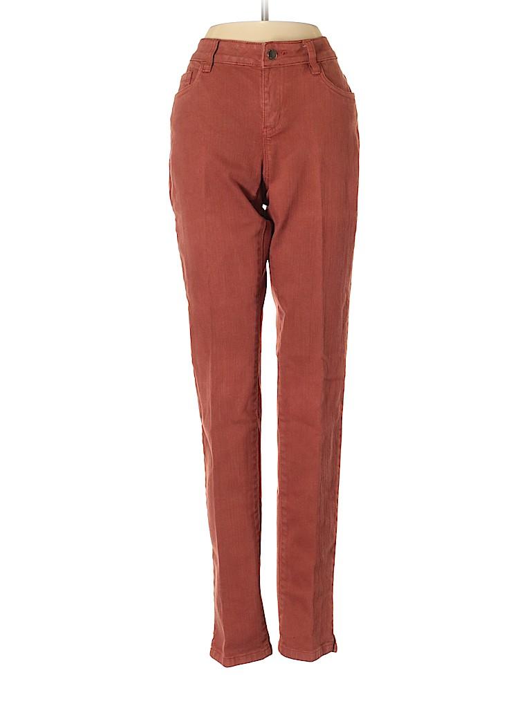 A.Z.I Jeans Solid Orange Jeans Size 4 - 63% off  36772d5439