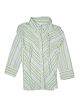 Fred David 3/4 Sleeve Blouse Size 3X (Plus)