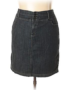 Torrid Denim Skirt Size 24 (Plus)