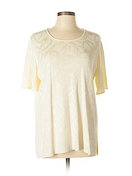 Les Copains 3/4 Sleeve Top Size 46 (IT)