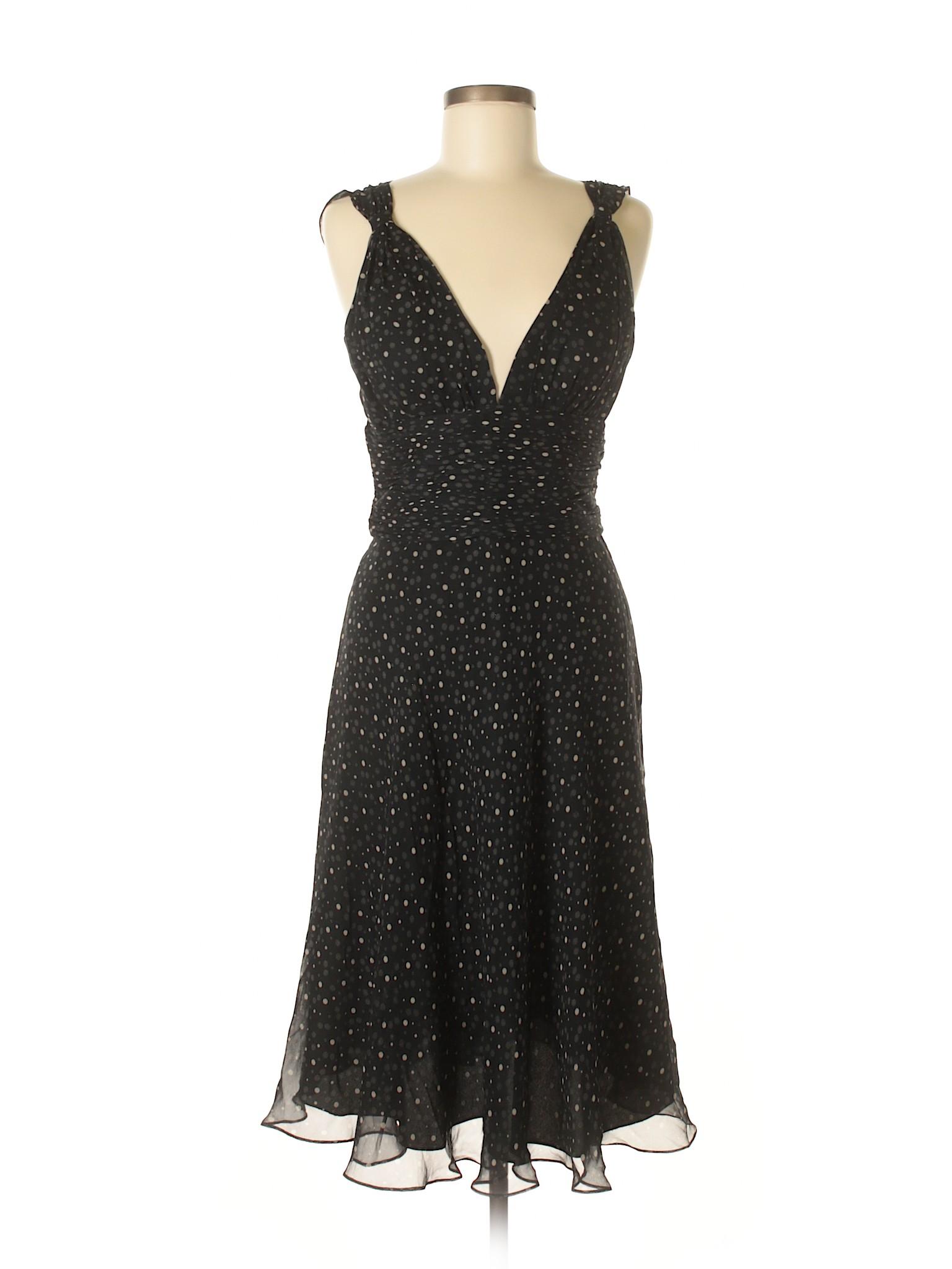 House Market Boutique Casual Black White winter Dress pxB6g