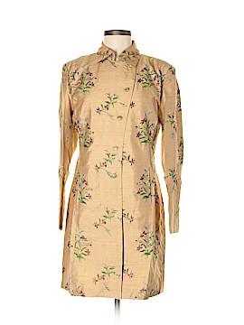 Silk Box Trenchcoat Size 6