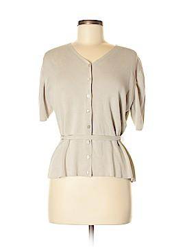 Geoffrey Beene Sport Silk Cardigan Size XL
