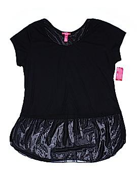 Mix & CO Short Sleeve Top Size 2X (Plus)