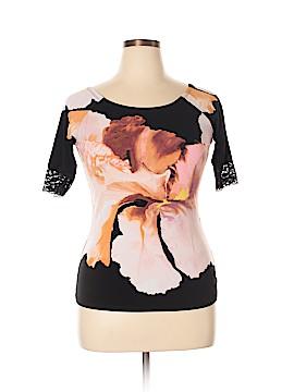 Bisou Bisou Short Sleeve Top Size XL