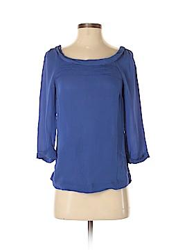 Massimo Dutti 3/4 Sleeve Silk Top Size XS